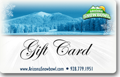 Arizona Snowbowl_Gift Cards