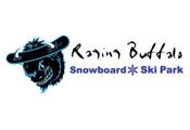 [Raging Buffalo Snowboard Park Logo]